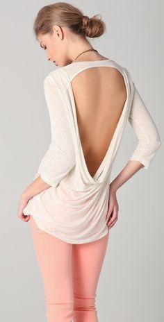 Gorgeous exposed back top from Blue Life!  I want one!