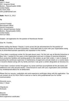 warehouse worker resume example httpwwwresumecareerinfowarehouse