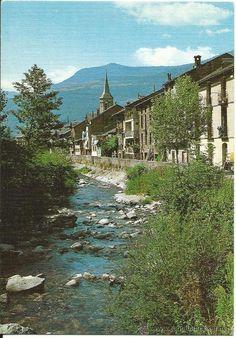 Esterri d'Àneu  Núm. 218. Esterri d'Àneu. Riu Noguera Pallaresa. Edicions Sicília 1980