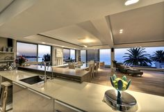 contemporary apartment renovation - Clifton, Cape Town, by Three14 Architects - three14 a r c h i t e c t s #Three14Architects #KimBenatar #SianFisher