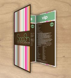(m4) Good Menu Design- This design is very modern and sleek. It so simple, yet complex. The colors match together perfectly.