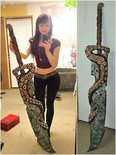 Big swords and tentacles too. (Guild Wars 2)