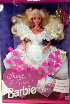Secret Hearts Barbie 1992 (?)