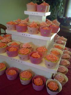 Princess Birthday Cupcakes! Princess Birthday Cupcakes, Ballerina Birthday Parties, Showers, Birthdays, Heaven, Fairy, Party Ideas, Baby Shower, Sugar