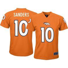 NFL Team Apparel Youth Denver Broncos Emmanuel Sanders  10 Orange T-Shirt dffdaa4ae