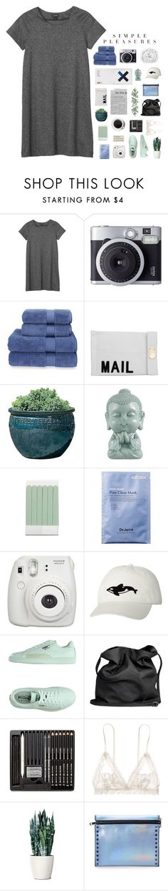 """☾happy earth day "" by thelittleturquoisebird ❤ liked on Polyvore featuring Monki, KEEP ME, Christy, Akira, Campania International, The Body Shop, Puma, Ann Demeulemeester, Hanky Panky and Mohzy"