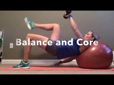 Balance and Core Exercise with that works your entire body.