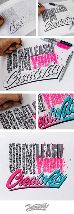 Typography Illustrations: