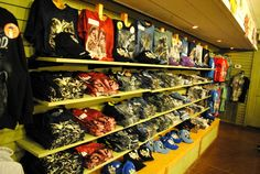 Shirts galore at Dollywood!