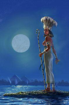 Anqet (Anket, Anuket, Anjet, Anukis) was an Old Kingdom goddess related to the…