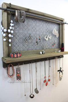 Jewelry Organizer Moroccan Style Jewelry Holder by HudsonLace