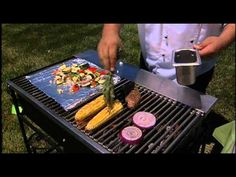 Healthy Grilling: Steak and grilled watermelon