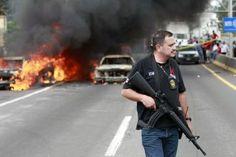 Mexico roadblocks