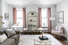 I am FINALLY sharing my Living Room Tour - It has taken over 5 months to completely finish decorating but I am so happy with how it has turned out!