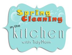 10 Spring Cleaning steps to get your kitchen health inspector clean! at TidyMom.net #housekeeping
