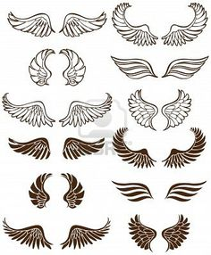 wings, thinking about getting a single wing tattoo to represent our babies.