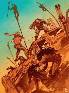 Mad Max: Fury Road - Djibril Morrissette-Phan