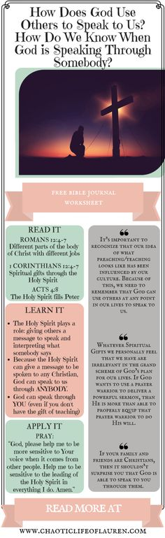How God uses others to speak to us! | Christian Lifestyle | God's Voice | Devotional | Biblical Womanhood | Faith | Ministry