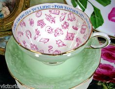 love it.. fortune telling tea cup