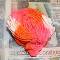 Image detail for -Adding More Color - Simply Spray Neon T-Shirt Craft