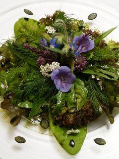 Wild Herb Salad