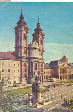 Eger, Dobó István tér - Páduai Szent Antal-templom / Minorita templom