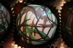 Hunting or Fishing Camo Cake Pop from: facebook.com/TaketheCakeForestCityIowa
