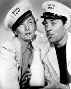 """Joan Fontaine & Allan """"Rocky"""" Lane  Maid's Night Out (1938)"""