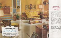 Early American Living Room Furniture Fresh Ideas Early American Living Room Furniture Early American - House Plans and more house design 70s Home Decor, Indian Home Decor, Home Decor Bedroom, Maple Furniture, Colonial Furniture, Inexpensive Home Decor, Cheap Home Decor, Early American Decorating, Mad Men Decor