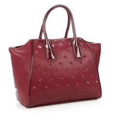 Wine studded wing tote bag by Faith, $27.96 http://picvpic.com/women-bags-handbags/wine-studded-wing-tote-bag
