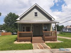 Nice home with replacement windows, updated kitchen and metal roofing. The furnace was installed in 2019 and is A/C ready. This home has been completely updated in the last 4 years. It is move in ready, which is hard to find in this price range. Don't miss this one! Ohio Real Estate, Updated Kitchen, Metal Roof, 4 Years, Range, Cabin, Windows, Nice, House Styles