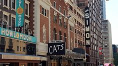 Check it out! The marquee is up! Manhattan Times Square, Lower Manhattan, Broadway Nyc, Cat Signs, Cats Musical, Double Decker Bus, Sight & Sound, Vintage New York, Little Italy