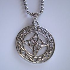 Image of a Werewolf Lycanthrope Lycan Symbol Celtic Pendant