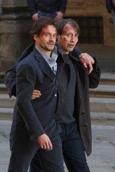 Hannibal Season 3. December 18, 2014 On Set. Source: mads-mikkelsen.net