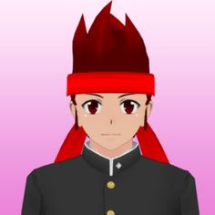 Ryuto Ippongo is one of the male students that currently attends Akademi High School. Ryuto is the third student to be introduced as an Easter Egg after Midori Gurin. Yandere Characters, Yandere Simulator Characters, Disney Characters, Fictional Characters, Yandere Boy, Naruto And Sasuke, Manga Games, Goth Girls, Sims