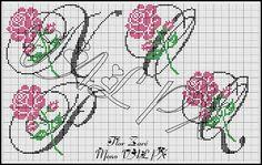 ENCANTS A PUNT DE CREU: Monogram Roses