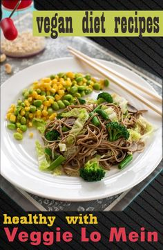 awesome Veggie Lo Mein