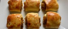 Paszteciki drożdżowe z kapustą i grzybami - Blog z apetytem Baked Potato, Potatoes, Baking, Ethnic Recipes, Blog, Kitchen, Projects, Christmas, Log Projects