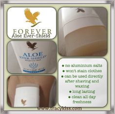 Forever Living Aloe Ever-Shield Deodorant Stick. To order visit my website www.normalee.flp.com