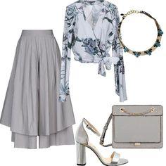 d80d90353553 Tenui riflessi di grigio  outfit donna Chic per serata fuori