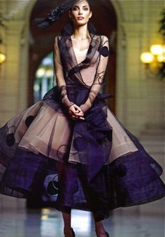 DIOR....How fun would this be to wear?