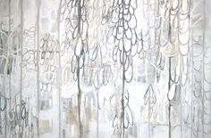 White paintings  Blair Vaughn Gruler  @ gallery-orange . Com
