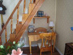 My doll house - Old desk table - Mi casita de muñecas - Escritorio