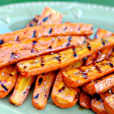 Grilled & Glazed Carrots - If you've got the grill fired up, these take mere minutes.