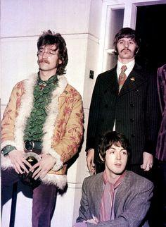 John Lennon, Ringo Starr and Paul McCartney