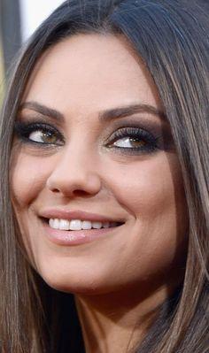 mila kunis eye makeup close up mugeek vidalondon