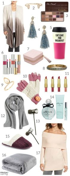 Gift Guide for Women on Frugal Coupon Living. Gift Guide for Her.
