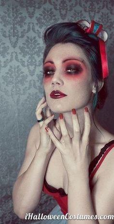 best halloween zombie makeup - Google Search