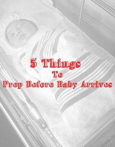 5 Things to Prep Bef