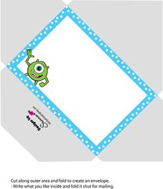 Monsters inc party printables free diy monster inc inspired kids envelope monsters inc invitations free printable ideas from family shoppingbag filmwisefo